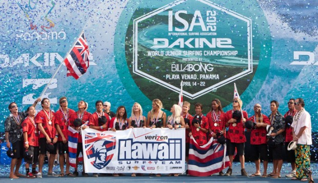 Team Hawaii Wins ISA World Junior Championship