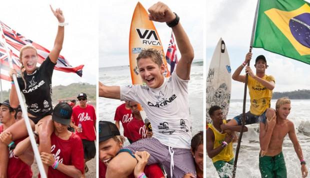 Dax McGill (HAW), Kalani David (HAW) ,Matheus Navarro (BRA)