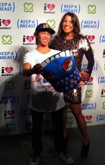 新井洋人とCEOのSHANEY 写真提供:DAIKO
