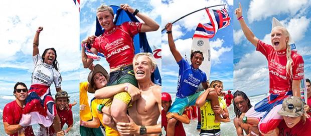 金メダルの4名のうち3名がハワイの選手となった