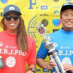 WJC日本代表選手の6名が決定。森友二、川合美乃里が優勝。WSLジャパン「M.B.J.プロ」