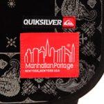 QUIKSILVER×Manhattan Portageコラボバッグ第2弾が発売