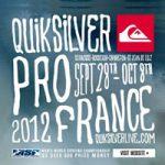 ASPワールド・チャンピオンシップ・ツアー第7戦.「クイックシルバー・プロ・フランス」がスタート。