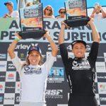 バンティングとフィッツギボンズが、全豪オープン・サーフィン優勝(2/19)