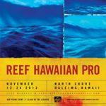 ASPプライム「リーフ・ハワイアン・プロ」Swell Forecastアップデイト