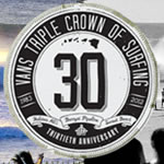 30回記念大会となるVANS TRIPLE CROWN OF SURFING明日から。