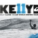 ケリー・スレーターV11オフィシャルプロダクトを発表