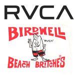 元祖サーフブランドBIRDWELLとRVCAがコラボレーションアイテムをリリース。