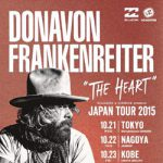 ドノヴァン・フランケンレイター、10/21の東京・下北沢を皮切りに ジャパン・ツアー開始