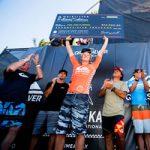 サーフィン史上、最も素晴しいビッグ・ウェイブ・イベントでジョン・ジョンが優勝。