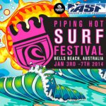 第1回「パイピング・ホット・サーフィン・フェスティバル」でオーストラリアのネイザン・ヘッジが優勝。