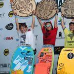 ブラジルで開催されたAPBワールドツアーで鈴木彩加が2位、大原沙莉が3位