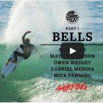 ベルズでのリップカール・チームのフリーサーフィン。Bells Blast – Surfing Is Everything