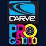 ニック・スクワイアーとミカエラ・グリーンが優勝。WSL-QS1000「Carve Pro」コナーが2位