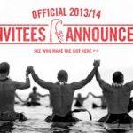 エディ・アイカウ2013/14の招待選手が発表 。脇田貴之が7年連続で招待選手に選出される。