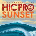 多くのサムライがサンセットに挑む。ASP4スター「Vans Presents HICプロ」は10/29開始。