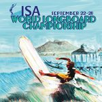 ISAワールド・ロングボード・チャンピオンシップ大会2日目。中山は37位でフィニッシュ。