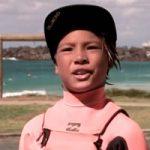 オッキーの息子、11才のジェイ・オクルーポがビラボンチームに加入