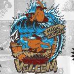 VOLCOM & MAGIC NUMBER PRESENTS 【JIMBO PHILLIPS ART CARAVAN】開催中