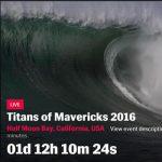 マーヴェリックスのビッグウェイブイベント日本時間2月13日(土)深夜に開催か。