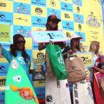 リップ・カール・グロムサーチ2015第2戦のアンダー16ガールズで川合美乃里が優勝。