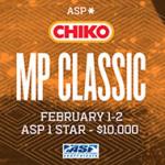 ASPメンズ1スター「2014 Chiko MP Classic」がスタート。日本勢は全員敗退。