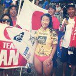 【速報】パナマで開催されたISA World Surfing Games 2013で大村奈央が5位。