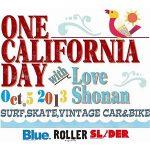 湘南で体感する、カリフォルニアな一日! 10月5日(土)「ONE CALIFORNIA DAY」開催