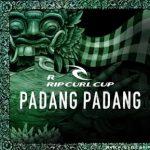 2016 RIPCURLカップ Padang PadangがWSLとオフォシャル・パートナーとなる。