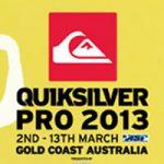 クイックシルバー・プロ・ゴールド・コーストはベスト4が決定。