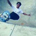 サーフスケーター金尾玲生が10ftを超えるコンクリートウェーブにチャージ@茨城つくばAXIS