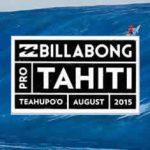 WSL-CT第7戦「ビラボン・プロ・タヒチ」は日本時間で今夜からウエイティング期間開始