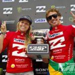 イベリとハーストが、ビラボン・ワールド・ジュニア・チャンピオンシップで、ASPワールド・ジュニア・タイトルを獲得