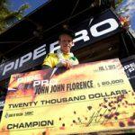 ジョンジョンが奇跡の大逆転。Volcom Pipe Proで2年連続優勝。