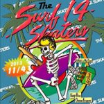 音楽を愛するサーフスケーター達の祭典「THE SURFSKATERS 14」が湘南・茅ヶ崎で開催。