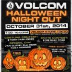 VOLCOM HALLOWEEN NIGHT OUTでハロウィン仮装コンテスト開催。優勝者は賞金$1000
