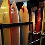 東京・代官山のSATURDAYSで千葉公平氏監修の「Vintage Surfboard Exhibition」開催中