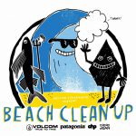第6回「VOLCOM  Patagonia  Partner  CHP  SUN RISE BEACH CLEAN UP」4/3開催。