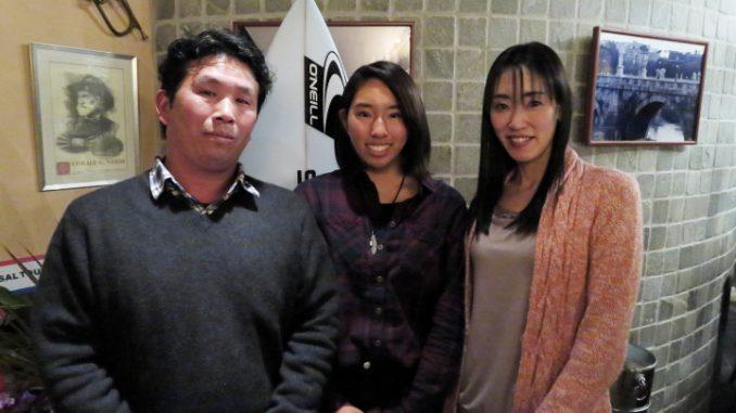 祝勝会が東京青山で行われ両親と3人で参加した美乃里