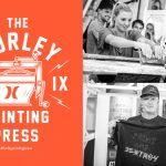 先着100名に無料でTシャツをプレゼント!Hurley プレゼンツ PRINTING PRESS @California Coast