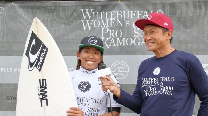 国内初開催となった女子QS3000にも出場したミノリphoto:s.yamamoto