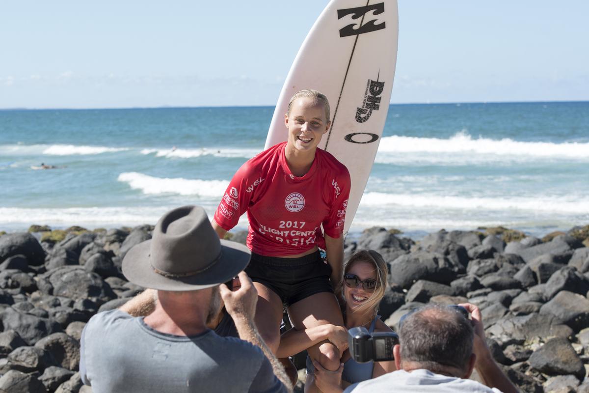 優勝したクイーンズランドのイザベラ・ニコルズ(AUS)WSL/Bennett