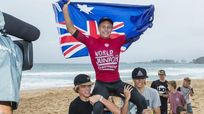 Ethan Ewing is the Men's World Junior Champion.PHOTO: © WSL / Cestari