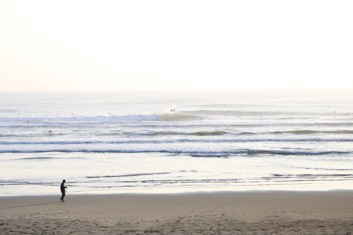 会場となる小倉浜ビーチ  Photo: NSA