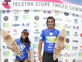 Ty Watson and Ren Hashimoto Taking out the 2017 Telstra Stores Tweed Coast Pro at Cabarita