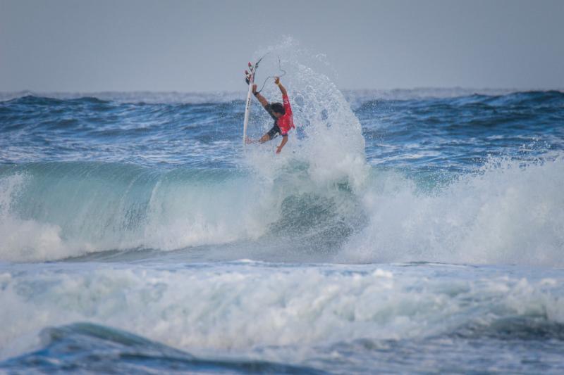 前回はポルトガルでU16で4位となった西優司 Photo: ISA / Sean Evans