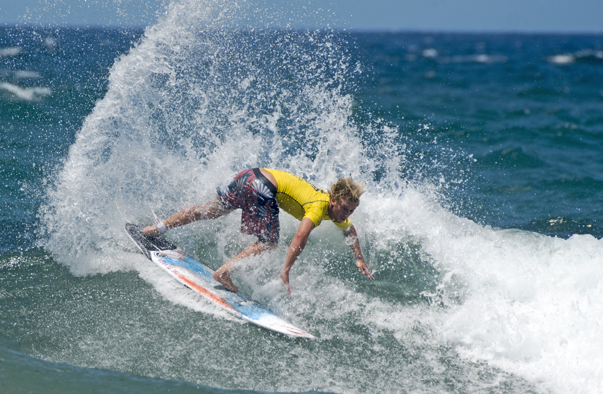Timothee Bisso at the Tweed Coast Pro