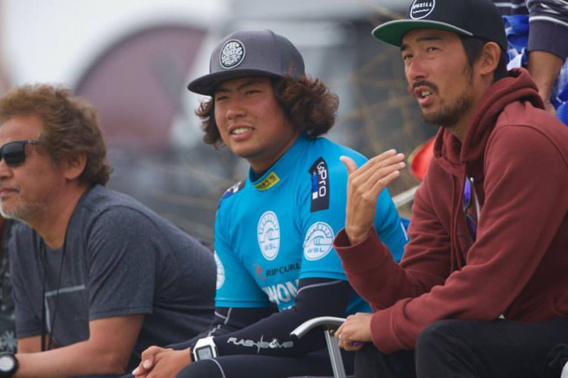 QS6000【ICHINOMIYA CHIBA OPEN】ではコーチの田中樹や地元応援団の期待に応えた。photo:Reo's Blog