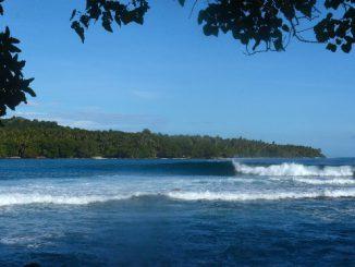 会場となるパプアニューギニアのテュピラ© WSL / Will Hayden-Smith
