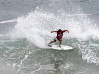 全豪オープン3位に続き、快調にラウンドアップする大原洋人 : © WSL /  Ethan Smith
